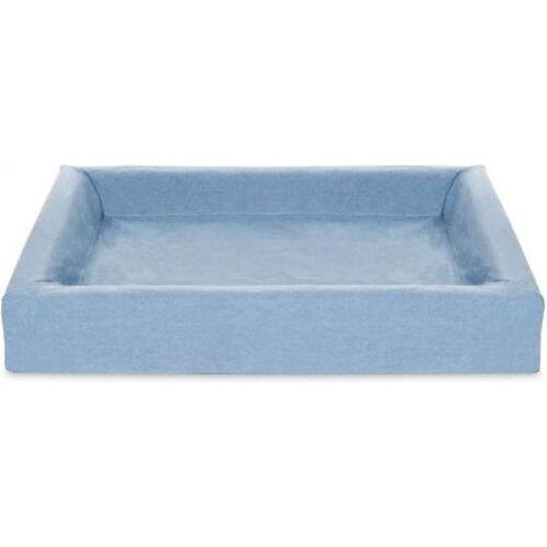 Bia Bed bezug für Hundekorb 100 x 80 cm Baumwolle hellblau
