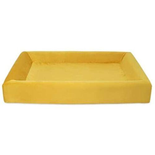 Bia Bed hundekorb Original 120 x 100 x 15 cm Kunstleder gelb