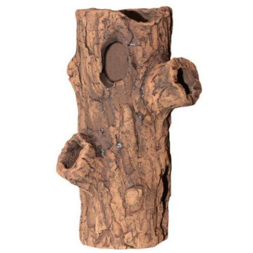 CeramicNature terrarium Log 8 x 22 cm Keramik braun