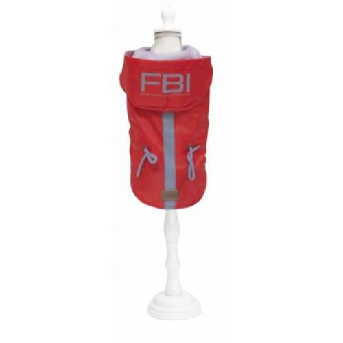 Croci hundefell Vancouver FBI 45 cm Polyester rot