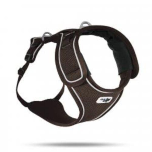 Curli hundegeschirr Belka 68-104 cm air-mesh schwarz