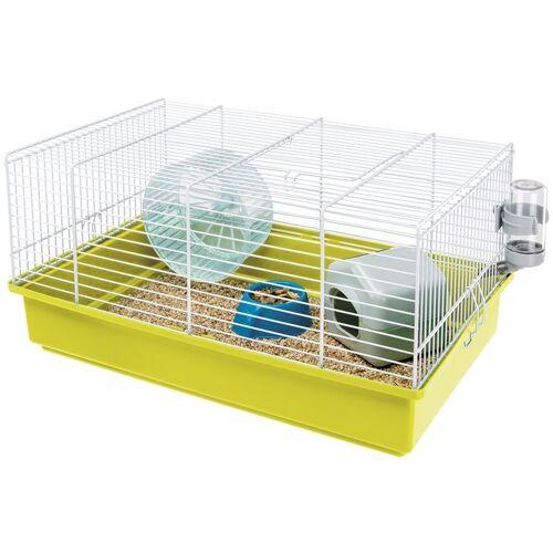 Ferplast hamsterkäfig Criceti 46 x 29,5 x 22,5 cm stahlgrün