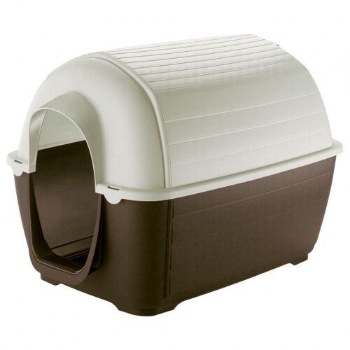 Ferplast Hundetransportbox Kenny 80 x 111,6 x 80 cm braun