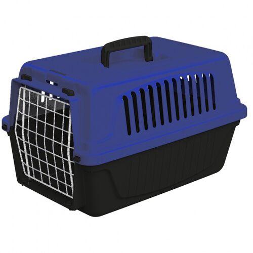 Ferplast katzen- und Hundekorb 41,5 x 28 cm schwarz/blau