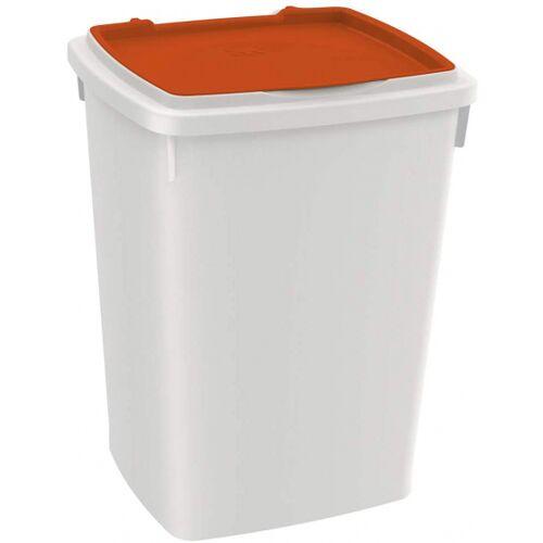 Ferplast aufbewahrungsbox Hundefutter 26 Liter orange/weiß