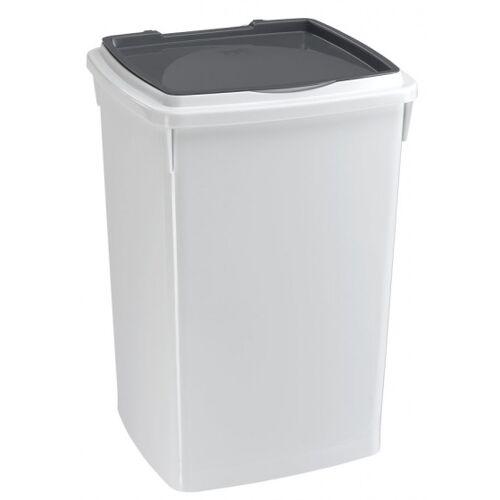 Ferplast aufbewahrungsbox Hundefutter 39 Liter grau/weiß