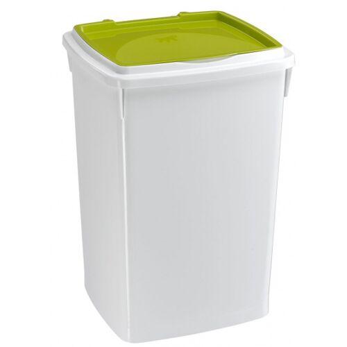 Ferplast aufbewahrungsbox Hundefutter 39 Liter grün/weiß