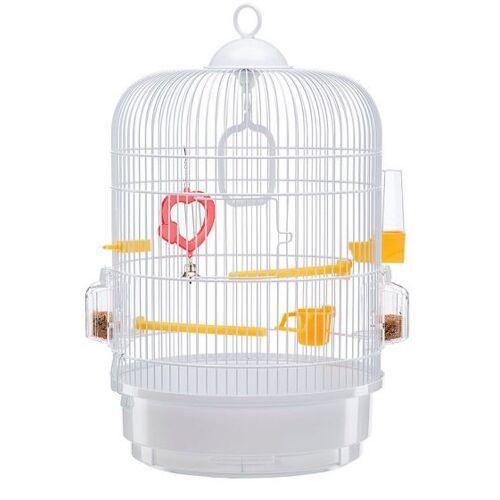 Ferplast vogelkäfig Regina 32,5 x 49 cm Stahl weiß