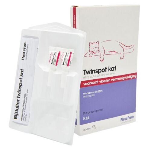 Flea Free flohbekämpfung Twinspot 2x 60 mg