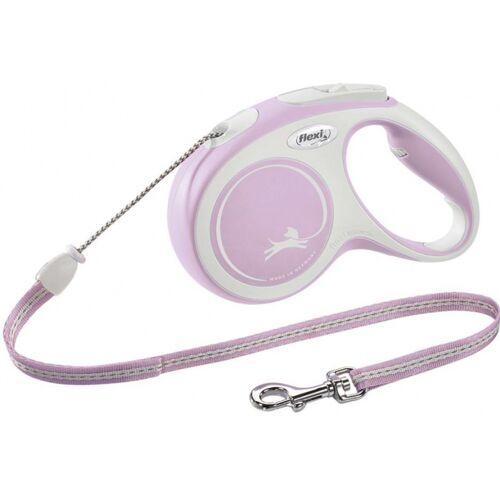 Flexi hundeleine New Comfort 5 m rosa