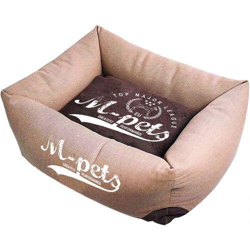 M-Pets haustierkorb wien 45 x 35 x 21 cm teflon braun