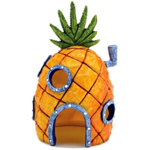 Nickelodeon aquarium-Ornament Spongebob Ananashuis 15 cm orange