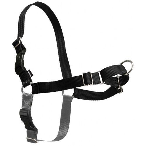 PetSafe hundegeschirr mit Leine Easy Walk 38-53 cm nylon schwarz