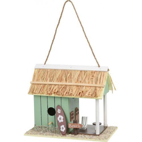 Pro Garden vogelhaus 28 x 22 x 16 cm Holz blau