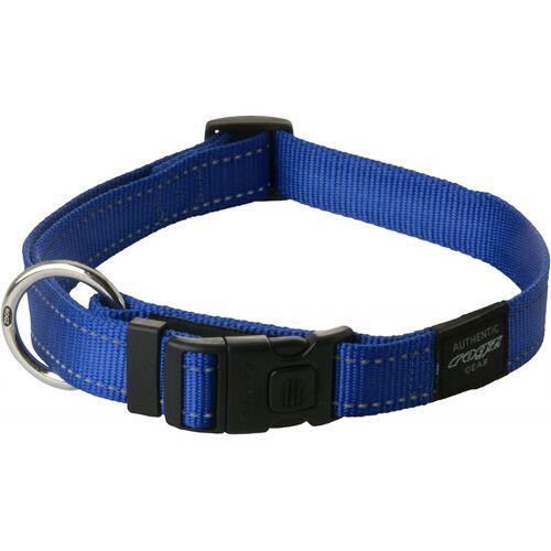Rogz for Dogz hundehalsband 43-75 x 2,5 cm Nylon blau