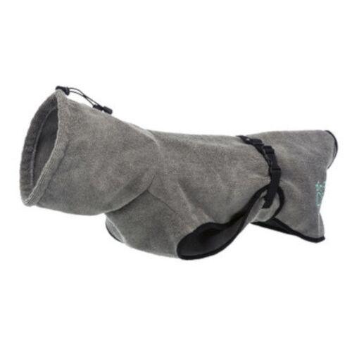 Trixie hundebademantel 30 cm Poly-Baumwolle grau
