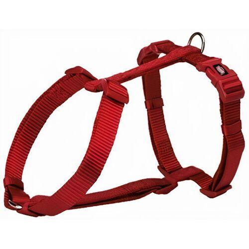 Trixie hundegeschirr Premium 52 - 75 cm nylon rot