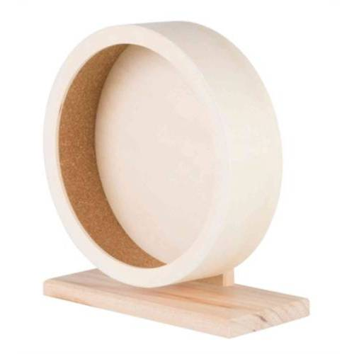 Trixie laufrad Hamster 21 cm Holz beige
