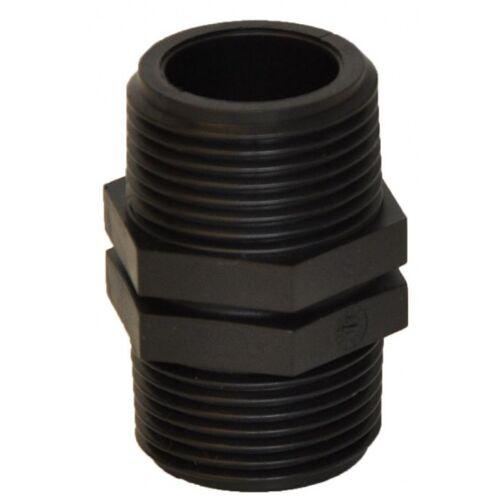 Velda wanddurchführung VT 30 mm 1 Zoll schwarz