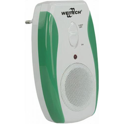 Weitech insektenschutz Nightlight 12 cm weiß/grün