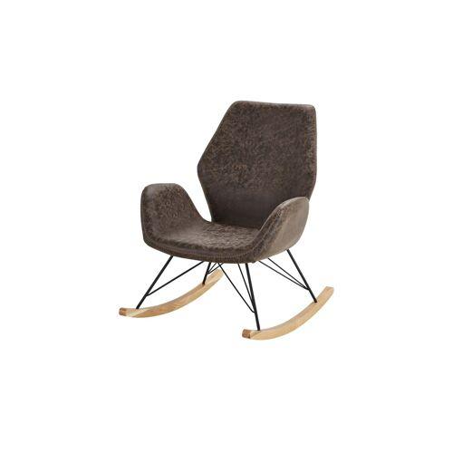 Sofa.de Schaukelsessel braun Theo    Braun