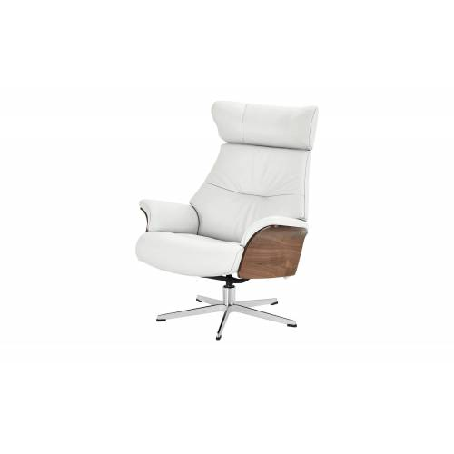 Sofa.de Relaxsessel weiß - Leder    Weiß