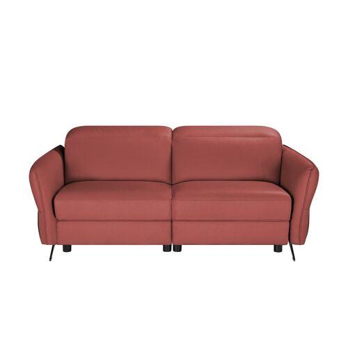 Sofa.de Ledersofa    Rot