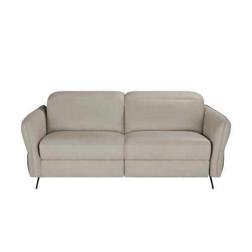 Sofa.de Ledersofa    Grau
