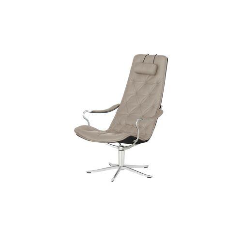 Sofa.de Ledersessel    Grau