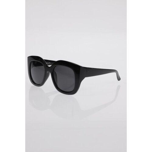 MONKI Damen Sonnenbrille schwarz, schwarz