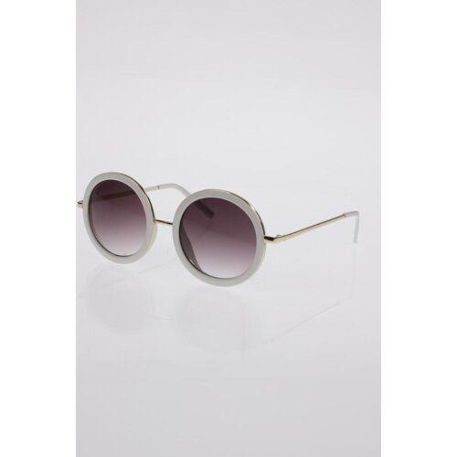MONKI Damen Sonnenbrille weiß, weiß
