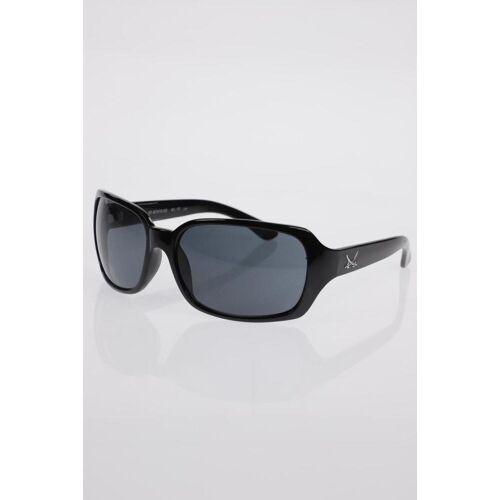 SANSIBAR Damen Sonnenbrille schwarz, schwarz