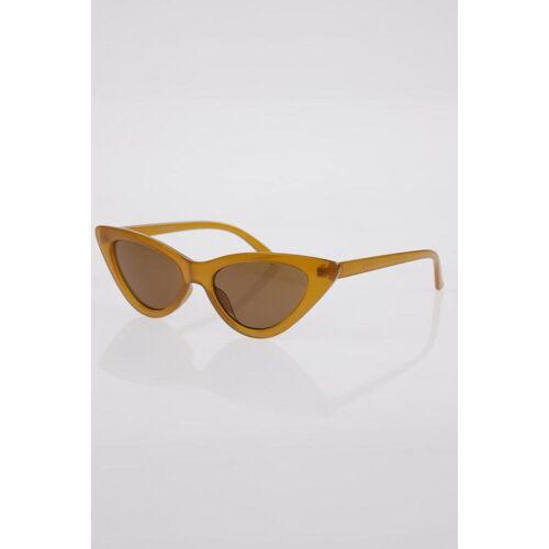 ZARA Damen Sonnenbrille orange, orange