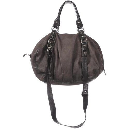 Airstep Damen Handtasche grau, Leder grau