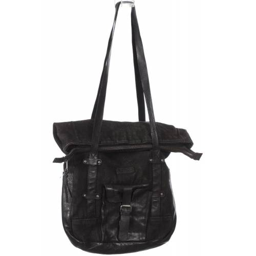 tigha Damen Handtasche schwarz schwarz
