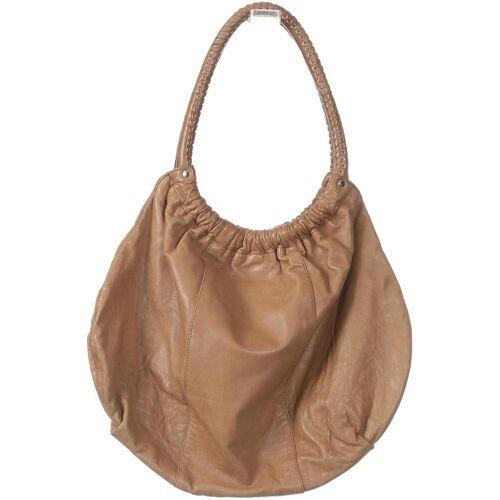 BELMONDO Damen Handtasche braun, Leder braun