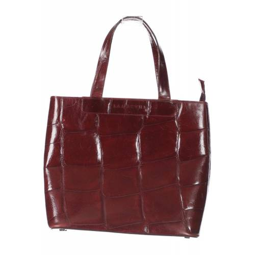 LAMARTHE Damen Handtasche rot, Leder rot