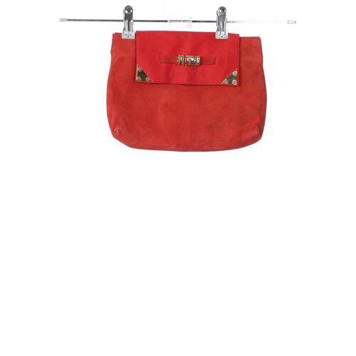 Pollini Damen Handtasche rot, Leder rot