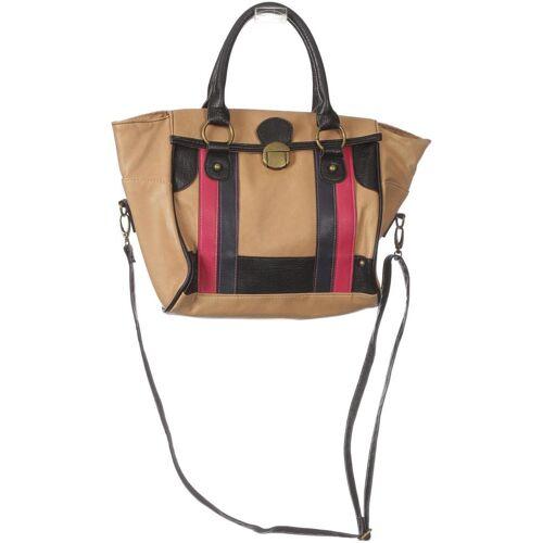 Promod Damen Handtasche beige, Kunstleder beige