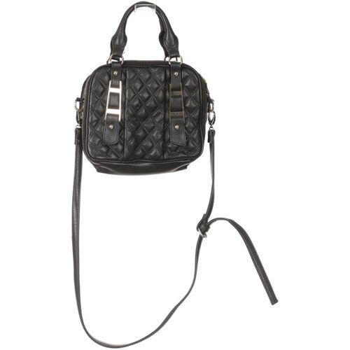 ZARA Damen Handtasche schwarz, Kunstleder A30FACC schwarz
