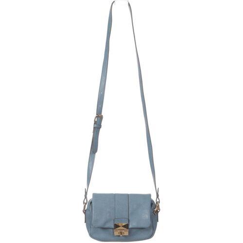 accessorize Damen Handtasche blau, Kunstleder blau