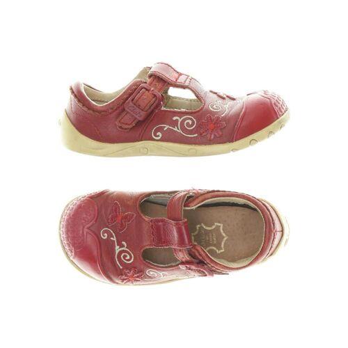 Clarks Damen Kinderschuhe rot, DE 23 rot