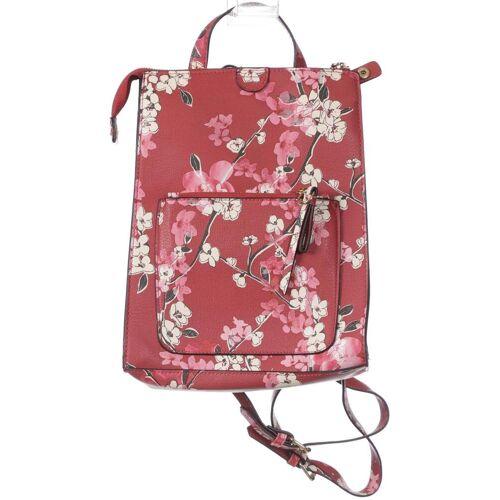 accessorize Damen Rucksack rot, Kunstleder rot