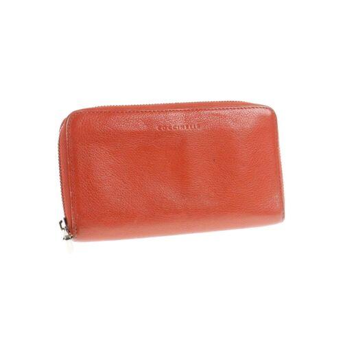 Coccinelle Damen Portemonnaie orange orange