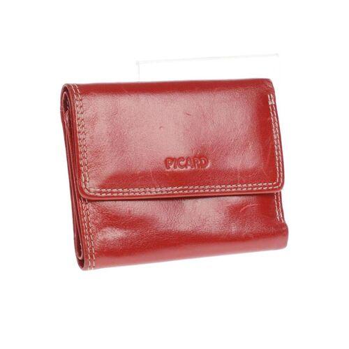 Picard Damen Portemonnaie rot rot
