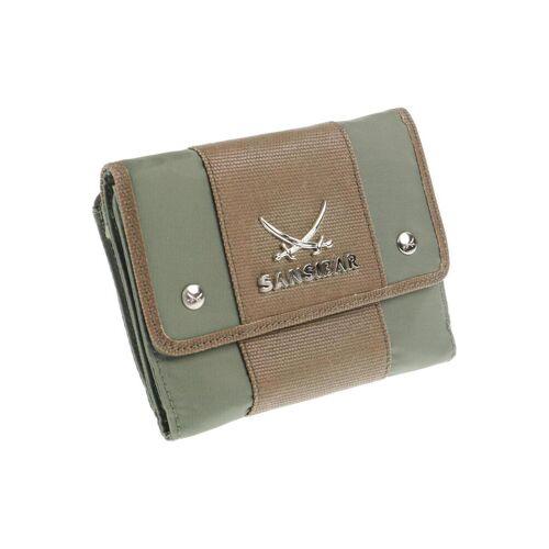 SANSIBAR Damen Portemonnaie grün CED203F grün