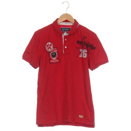 McNeal Herren Poloshirt rot, INT M rot