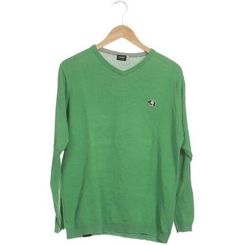 Zimtstern Herren Pullover grün, INT M, Baumwolle grün