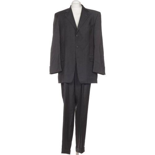 BARUTTI Herren Anzug grau, DE 52, Schurwolle Viskose grau
