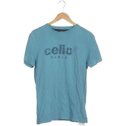 Celio Herren T-Shirt blau, INT M blau